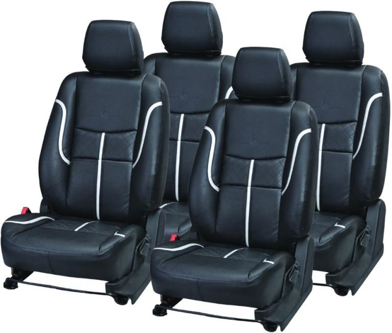 Pegasus Premium PU Leather Car Seat Cover For Toyota Etios Cross(Detachable Head Rest, Mono Back Seat, With Back Seat Arm Rest, 5 Seater, 2 Back Seat Head Rests)