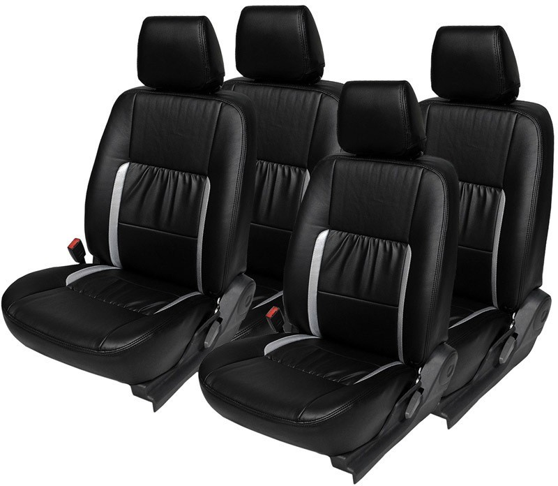 Hi Art Leatherette Car Seat Cover For Ford Ecosport(4 Seater, 2 Back Seat Head Rests)