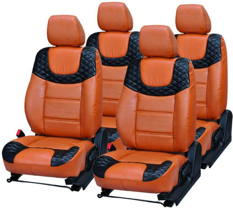 Pegasus Premium PU Leather Car Seat Cover For Renault Kwid(Fixed Head Rest, Mono Back Seat, Without Back Seat Arm Rest, 5 Seater, 2 Back Seat Head Rests)