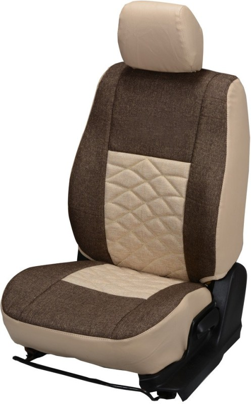Pegasus Premium Jute Car Seat Cover For Maruti 800(Fixed Head Rest, Mono Back Seat, Without Back Seat Arm Rest, 5 Seater, 2 Back Seat Head Rests)