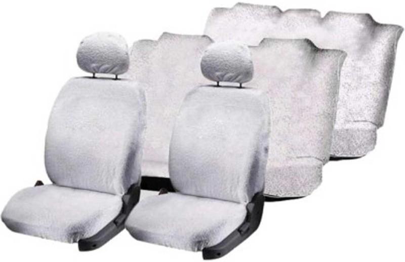 Allure Auto Cotton Car Seat Cover For Mahindra Scorpio(Mono Back Seat, 7 Seater, 3 Back Seat Head Rests)