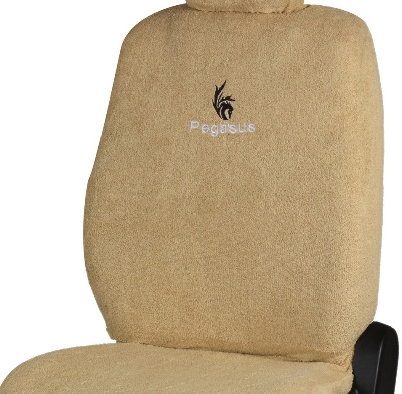 Pegasus Premium Cotton Car Seat Cover For Volkswagen Polo(Detachable Head Rest, Mono Back Seat, Without Back Seat Arm Rest, 5 Seater, 2 Back Seat Head Rests)