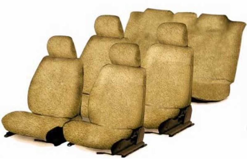 Allure Auto Cotton Car Seat Cover For Tata Sumo(Mono Back Seat, 7 Seater, 3 Back Seat Head Rests)