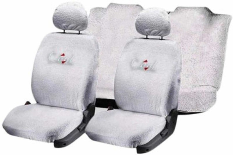Allure Auto Cotton Car Seat Cover For Chevrolet Beat(Mono Back Seat, 5 Seater, 2 Back Seat Head Rests)