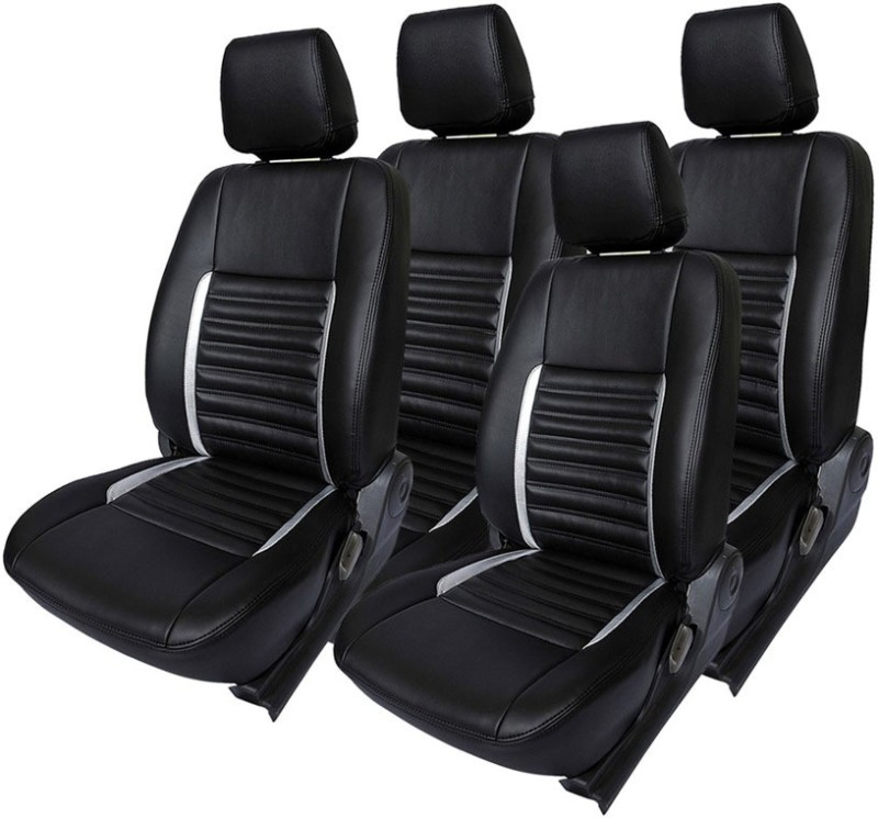 Hi Art Leatherette Car Seat Cover For Hyundai Eon(4 Seater, 2 Back Seat Head Rests)