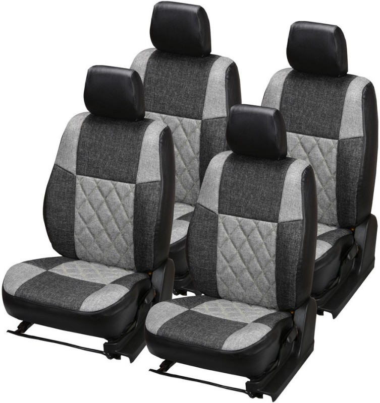 Pegasus Premium Jute Car Seat Cover For Skoda Rapid(Detachable Head Rest, Mono Back Seat, Without Back Seat Arm Rest, 5 Seater, 2 Back Seat Head Rests)