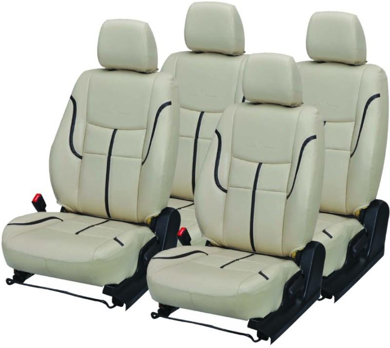 Pegasus Premium PU Leather Car Seat Cover For Volkswagen Polo(Detachable Head Rest, Mono Back Seat, With Back Seat Arm Rest, 5 Seater, 2 Back Seat Head Rests)
