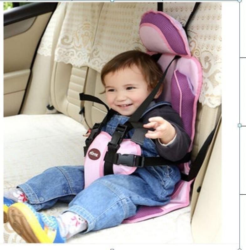 Kiddale Portable Safety Baby Car Seat Forward Facing Car Seat(Purple)