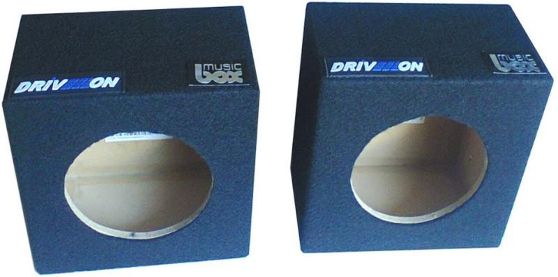 Driveon 4 Round Mini 4 Round Mini-Universal Component Car Speaker(200 W)