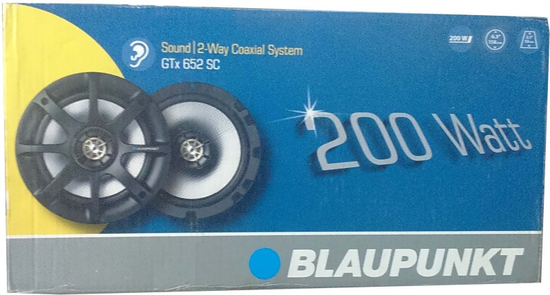 Blaupunkt Sound GTx652SC Coaxial Car Speaker(200 W)
