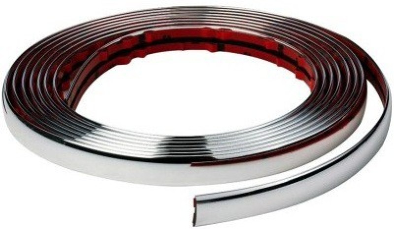 ACCESSOREEZ Chrome Diy Moulding Trim Strip For Window Bumper Grille S Car Side Beading(Silver)