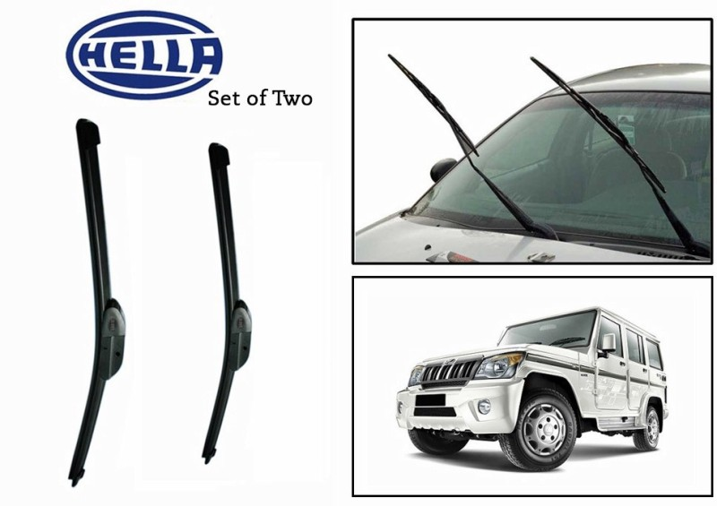 Hella Windshield Wiper For Mahindra Bolero(Passenger And Driver Side Wipers Pack of)