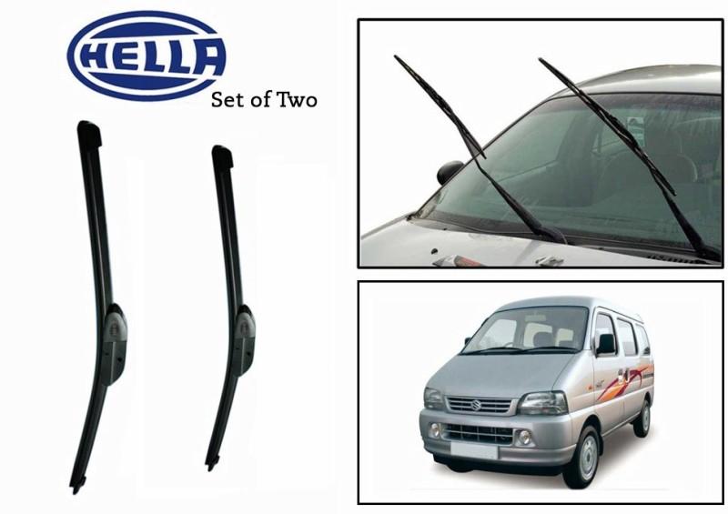 Hella Windshield Wiper For Maruti Suzuki Versa(Passenger And Driver Side Wipers Pack of)
