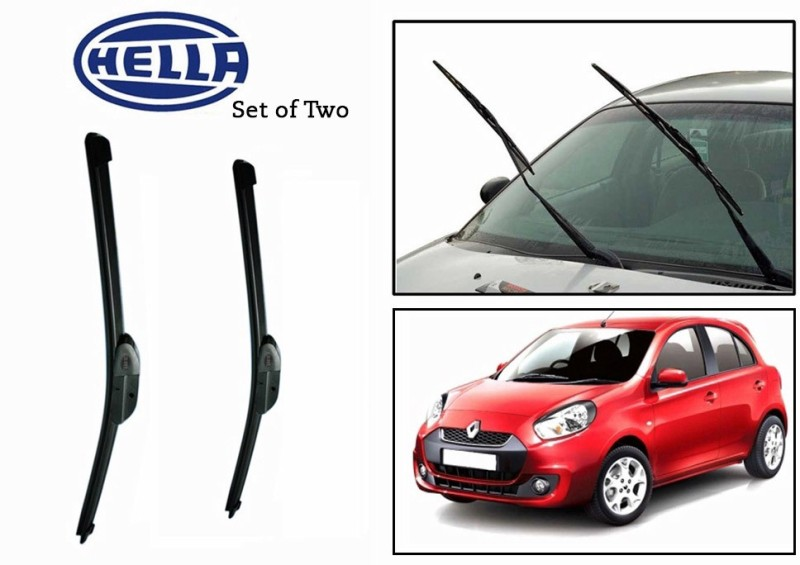 Hella Windshield Wiper For Renault NA(Passenger And Driver Side Wipers Pack of 2)
