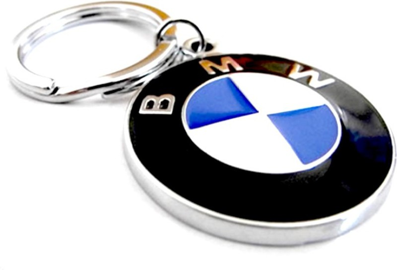 Tech Fashion BMW Car Logo Locking Key Chain(Blue, Black)