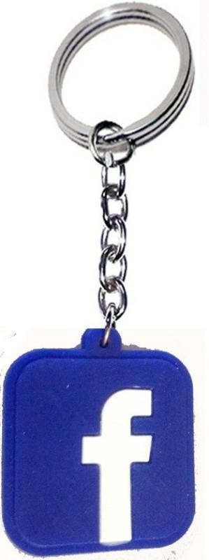 Kartbin Facebook Like Key Chain(Blue)