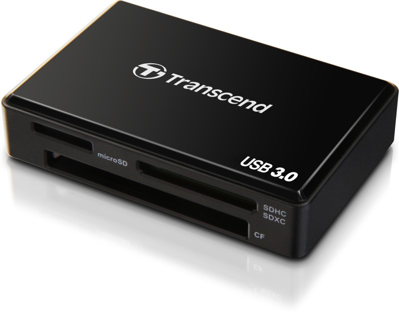 Transcend TS-RDF8K Card Reader(Black)