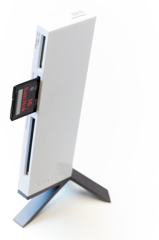 SanDisk SDDR-289-X20 Card Reader(White)