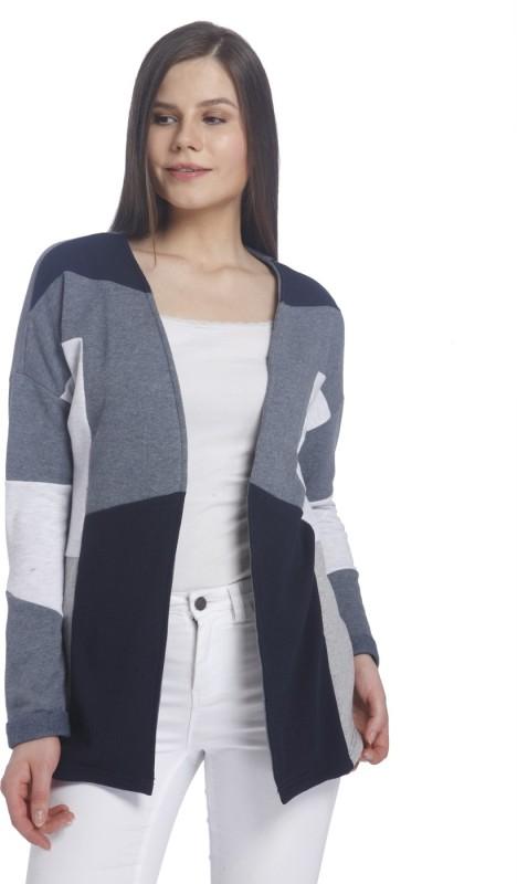 Vero Moda Womens No Closure Solid Cardigan