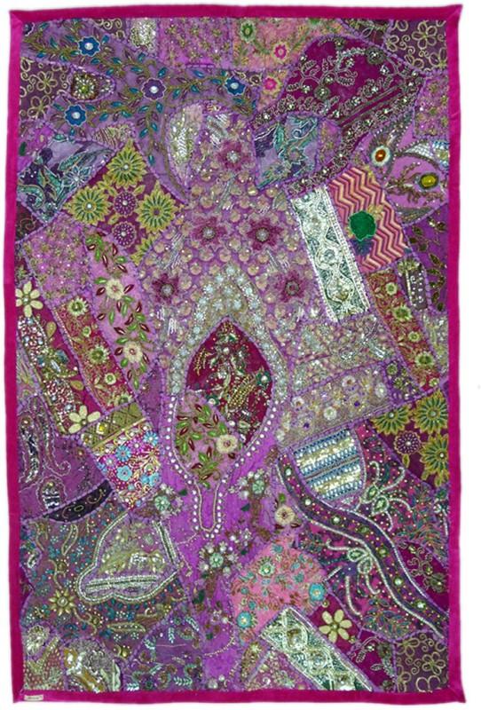 Reme Multicolor Velvet Carpet(40 cm  X 60 cm)