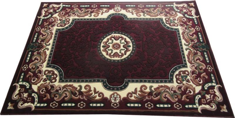 Farhan Carpet Brown Polypropylene Carpet(150 cm  X 210 cm)