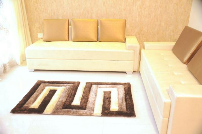 Home Best Multicolor Polyester Carpet(60 cm  X 150 cm)
