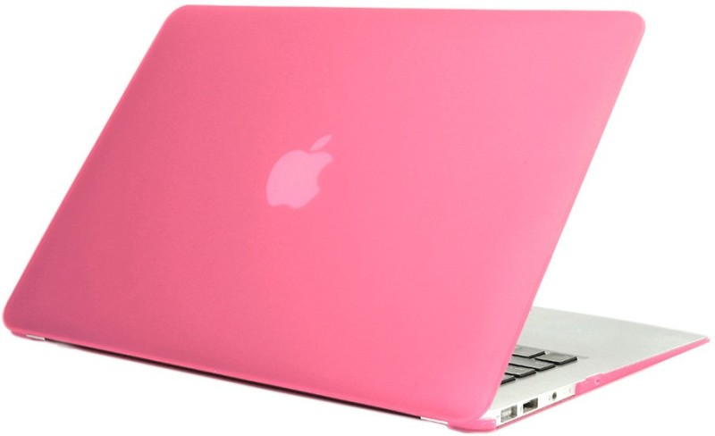 "Pindia 13 inch Laptop Case(Pink) Pink Matte Finish Apple Macbook Air 13.3 "" A1466 Hard Shell Cover"