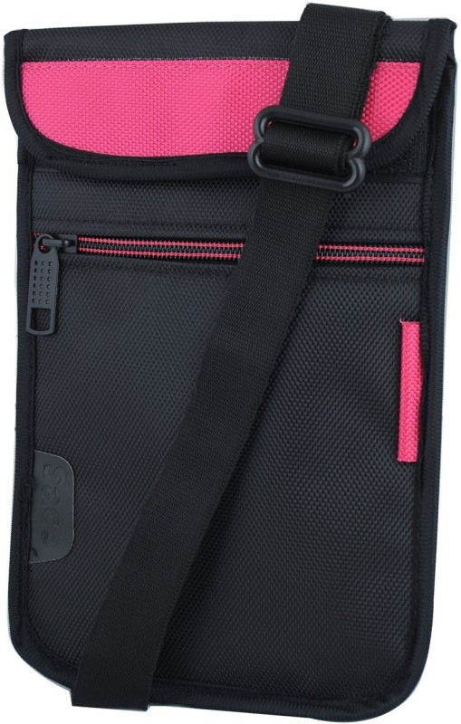 Saco Pouch for Tablet BSNL Penta WS707c? Bag Sleeve Sleeve Cover (Pink)(Pink)