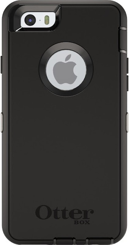 OtterBox Back Cover for Apple iPhone 6s Plus(Black, Shock Proof)