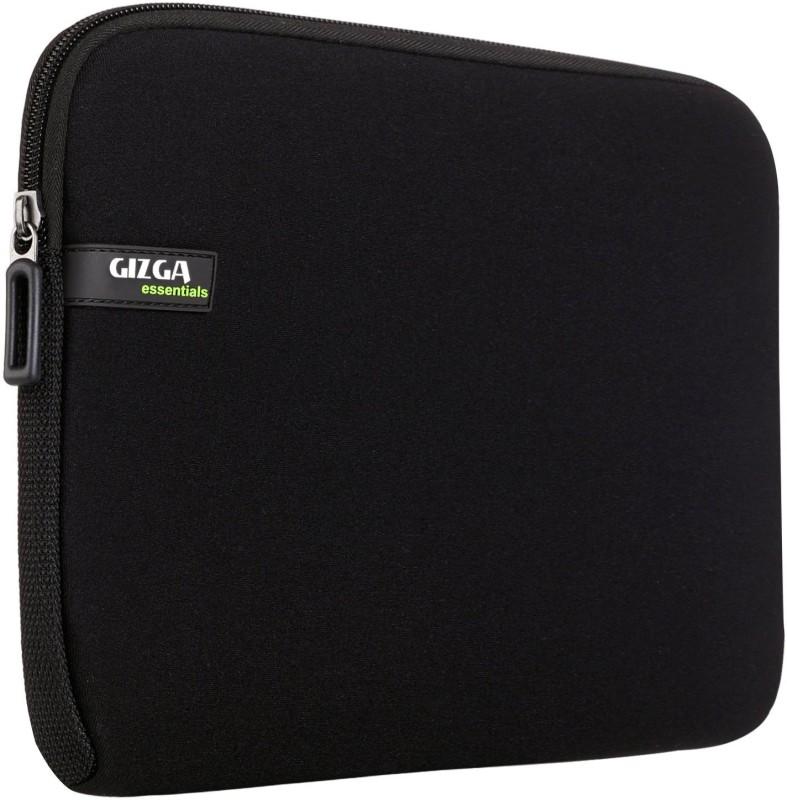 Gizga Essentials GE-15-BLK-BLK Laptop Sleeve/Cover(Black, 1)