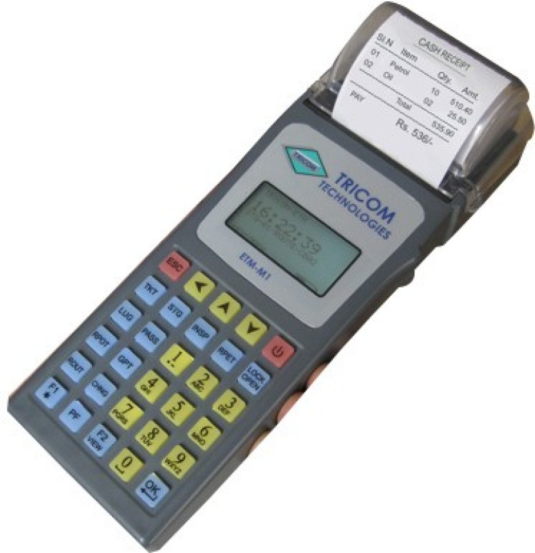 Tricom ETM-M1 Hand-held Cash Register(Digital Display)