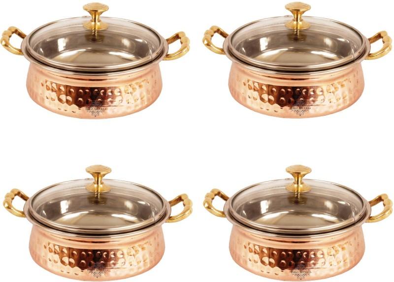IndianArtVilla Pack of 4 Casserole Set(2 L)