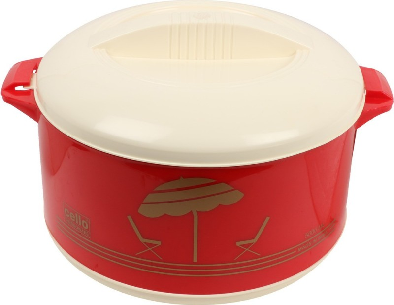 Cello Chef2000-Red Thermoware Casserole(2000 ml)