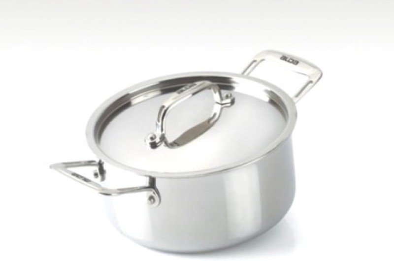 Alda Tri Ply Stainless Steel Casserole with Lid Casserole(1.5 L)