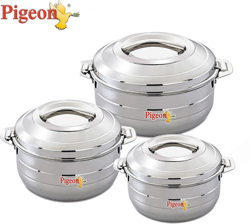 Pigeon Serving Dish Casserole Set(1000 ml, 1500 ml, 2500 ml)