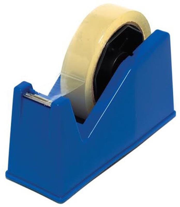 Serenity Health Care Single Sided HandHeld Tape Dispenser (Manual)(Set of 1, Blue)