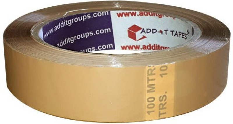 Add-It Tapes Single Sided Handheld Cello Tapes (Manual)(Set of 6, Brown, Clear)
