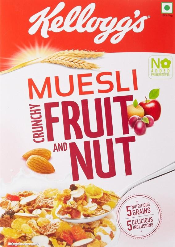 Kellogg's Muesli Crunchy Fruit & Nut(500 g, Box)