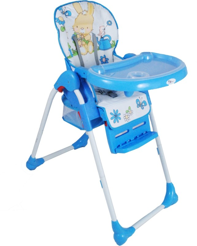 Toy House Baby Premium High Chair, Blue(Multicolor)