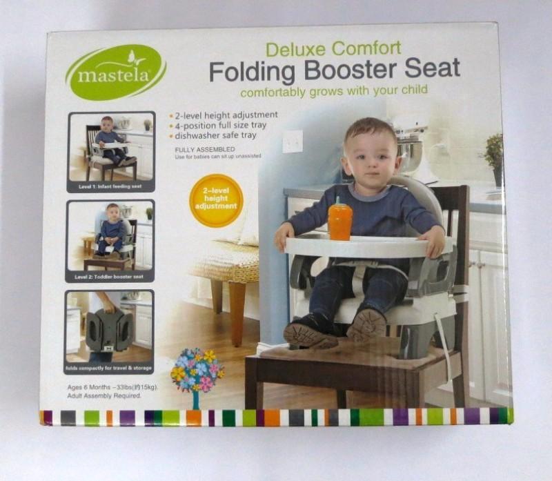 Mastela Booster To Toddler Seat(Grey)