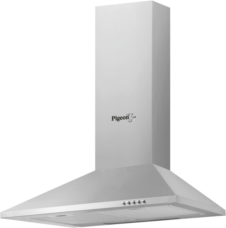 Pigeon Sterling LX Wall Mounted Chimney(Silver 600)