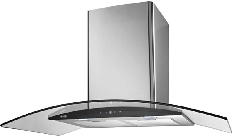 Kaff OPEC GX - 90 Wall Mounted Chimney(Steel 1180)