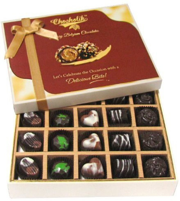 Chocholik Great Combination Of 20 Pc Assorted Chocolate Truffles(240 g)