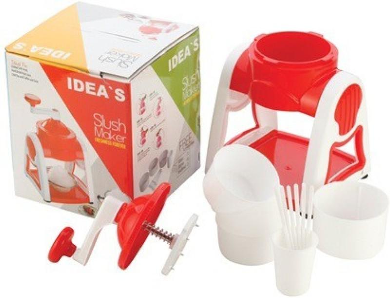 Idea's Gola Maker Chopper(1 Body, 1 Top with Blade & Handle, 3 Bowls, 6 Gola Sticks, 1 Gola Shaper)