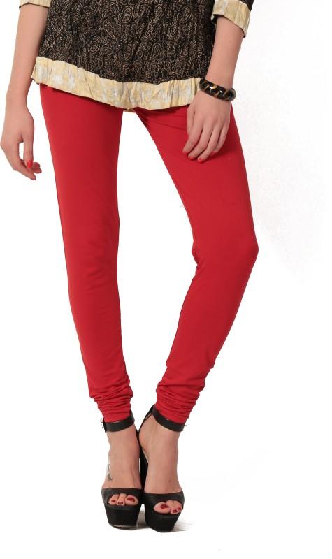 Colors & Blends Legging(Red, Solid)
