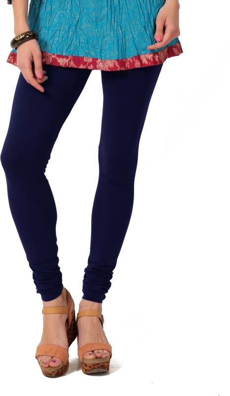 Colors & Blends Legging(Blue, Solid)