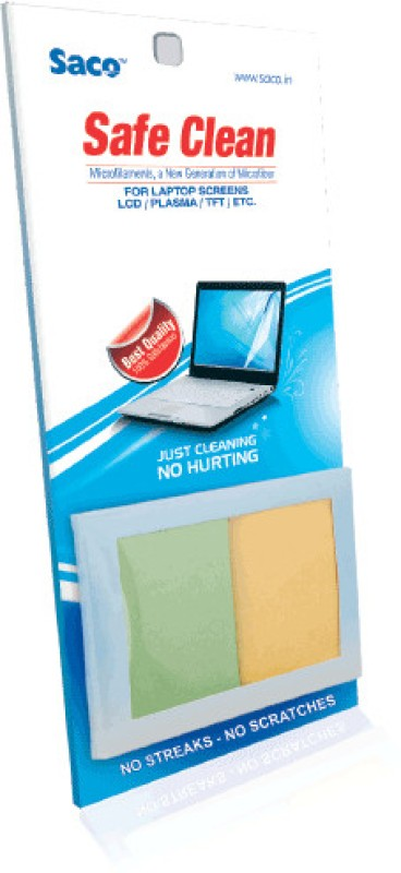 Saco Safe Clean (Microfilament Cloth) for Computers(SC30011)