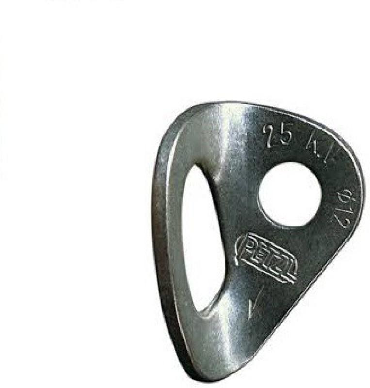Petzl Coeur 10 Mm Bolt hanger Climbing Pulley(Silver)