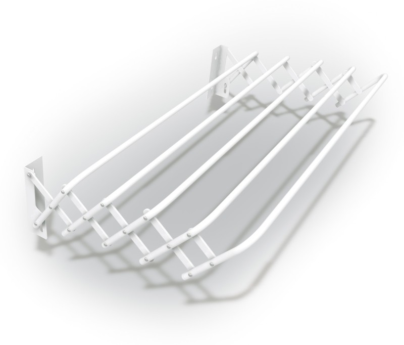 Gimi Steel Wall Cloth Dryer Stand(White, Pack of 1)