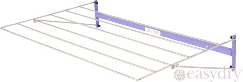 Easy Dry Systems Stainless Steel Wall Cloth Dryer Stand(Purple, Pack of 1)